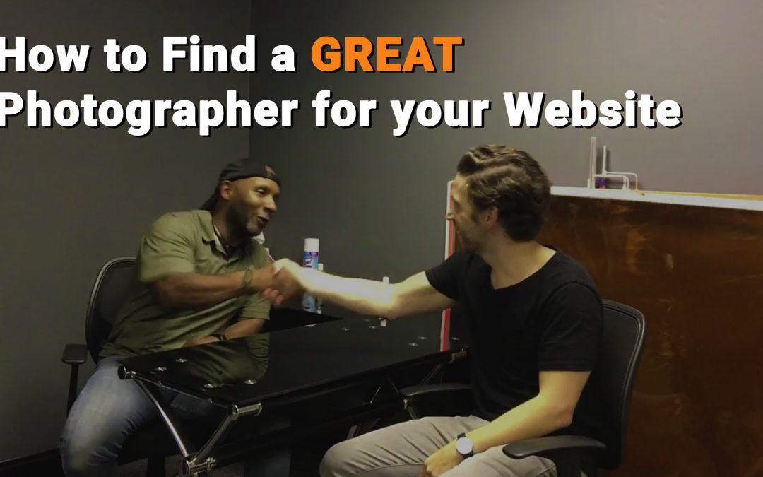 How to Find a Great Photographer for your Website